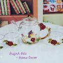 Ly tách hoa hồng 6