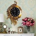 Đồng hồ chim công vàng - phong cách châu Âu cổ điển 0