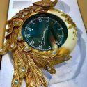 Đồng hồ chim công vàng - phong cách châu Âu cổ điển 2