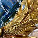 Đồng hồ chim công vàng - phong cách châu Âu cổ điển 3