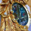 Đồng hồ chim công vàng - phong cách châu Âu cổ điển 4