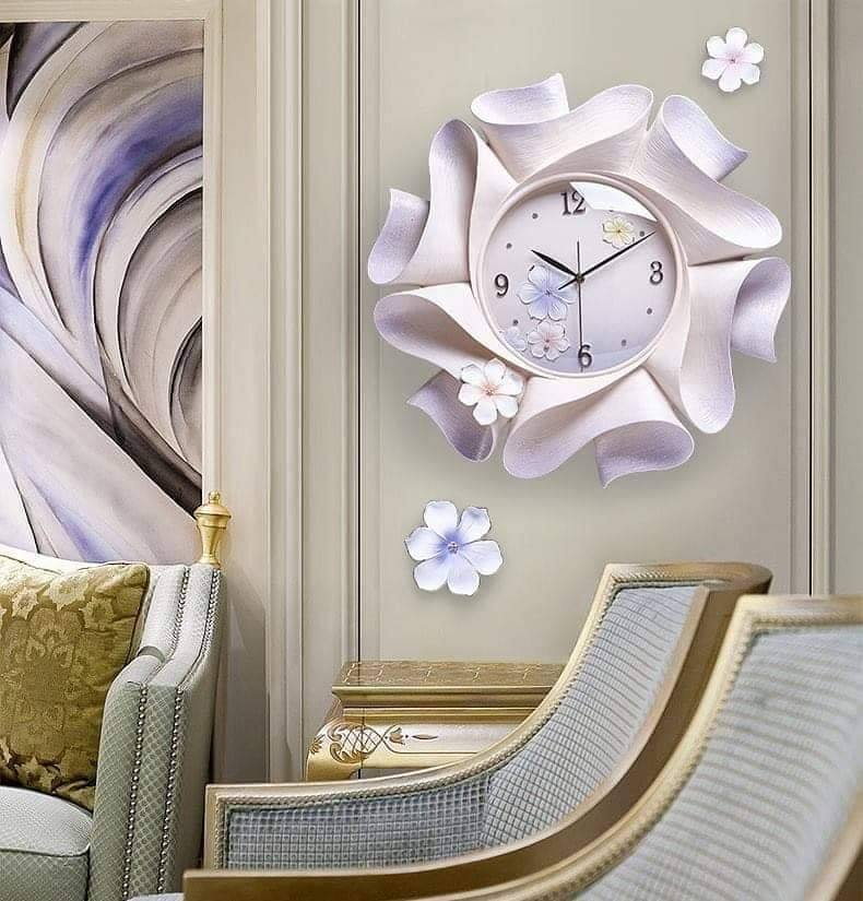 Đồng hồ gốm sứ hoa bất tử