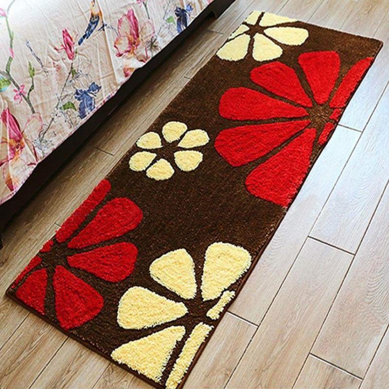Thảm hoa đỏ, vàng